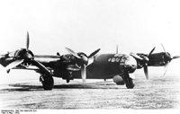 Me 264 V 1, Fernbomber, Aufklärer. Werkfoto Messerschmitt (MBB) 6/264