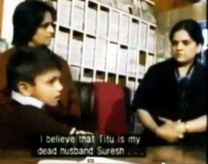 5 Titu Singh Patrino Pasinta Viva Cikatro aŭ Naskiĝmarko Reenkarniĝo-Kazo-Suresh Radio
