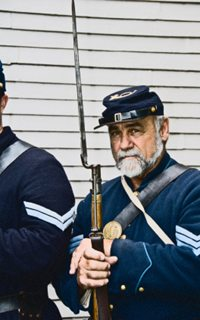 Civil war sergeant of 13th Mass in Concord