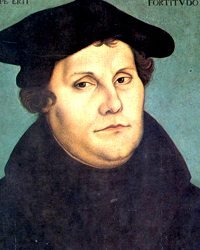 ReincarnationResearchMartinLuther's portrait