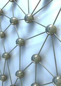 An Image of a Network Simulation