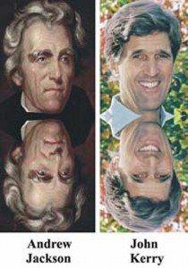5 Andrew Jackson John Kerry Reenkarniĝo
